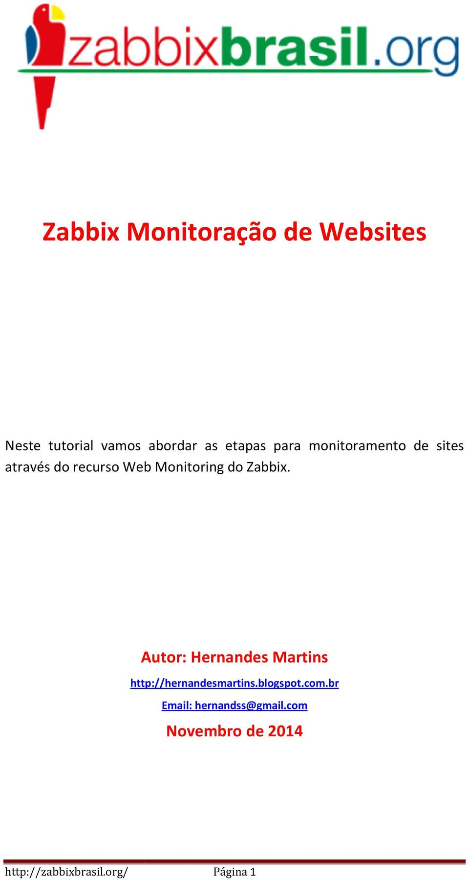 Monitoring do Zabbix.