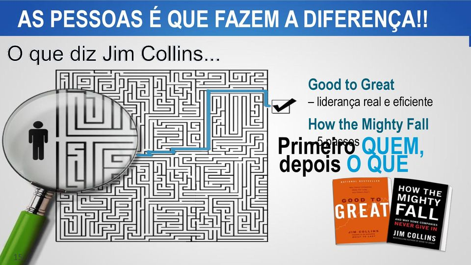 ! Good to Great liderança real e