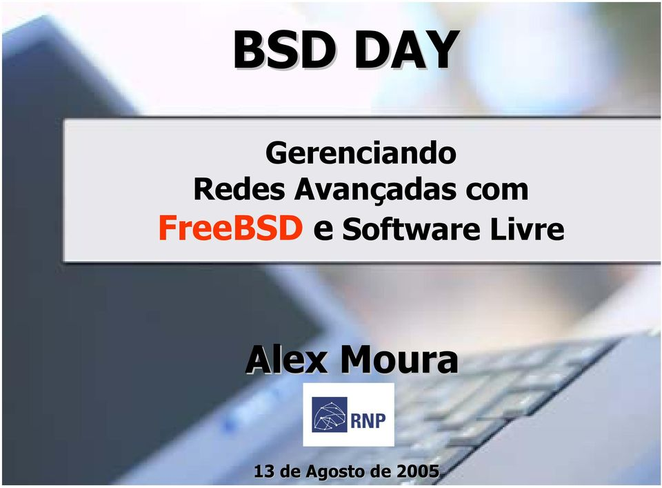 FreeBSD e Software Livre