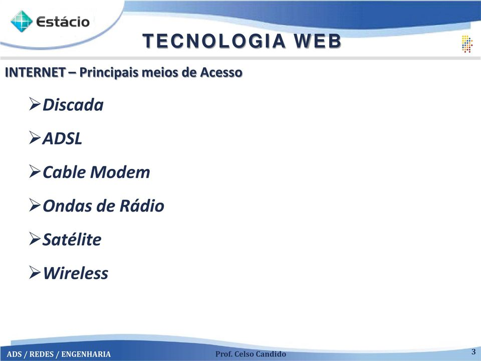 Wireless TECNOLOGIA WEB