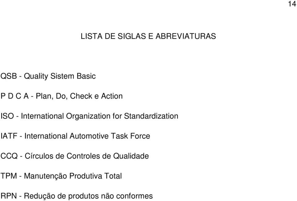 - International Automotive Task Force CCQ - Círculos de Controles de