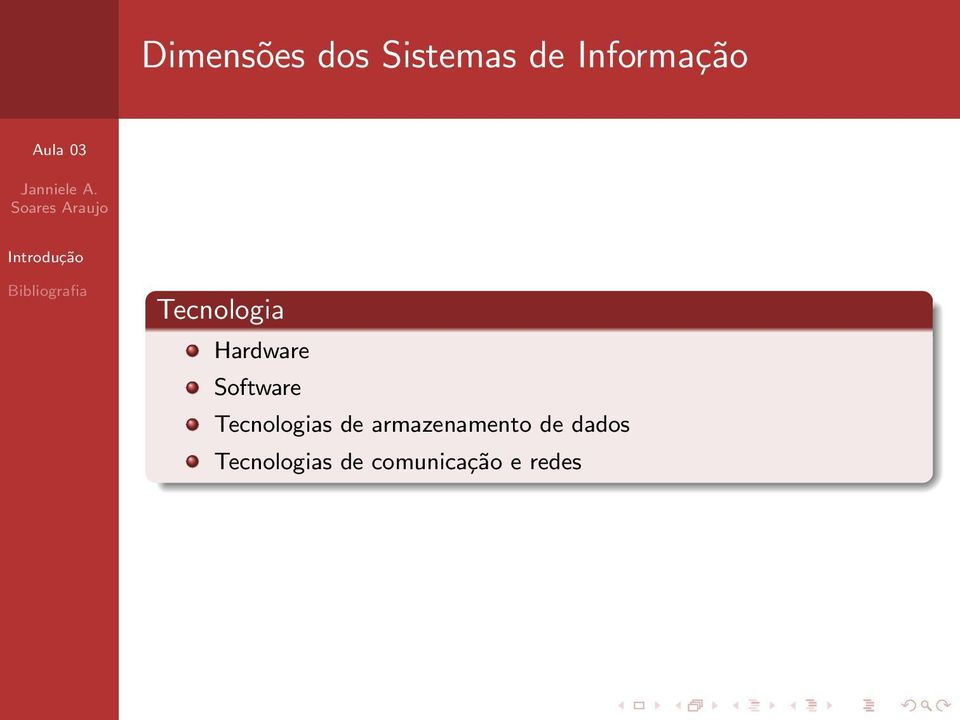 Software Tecnologias de