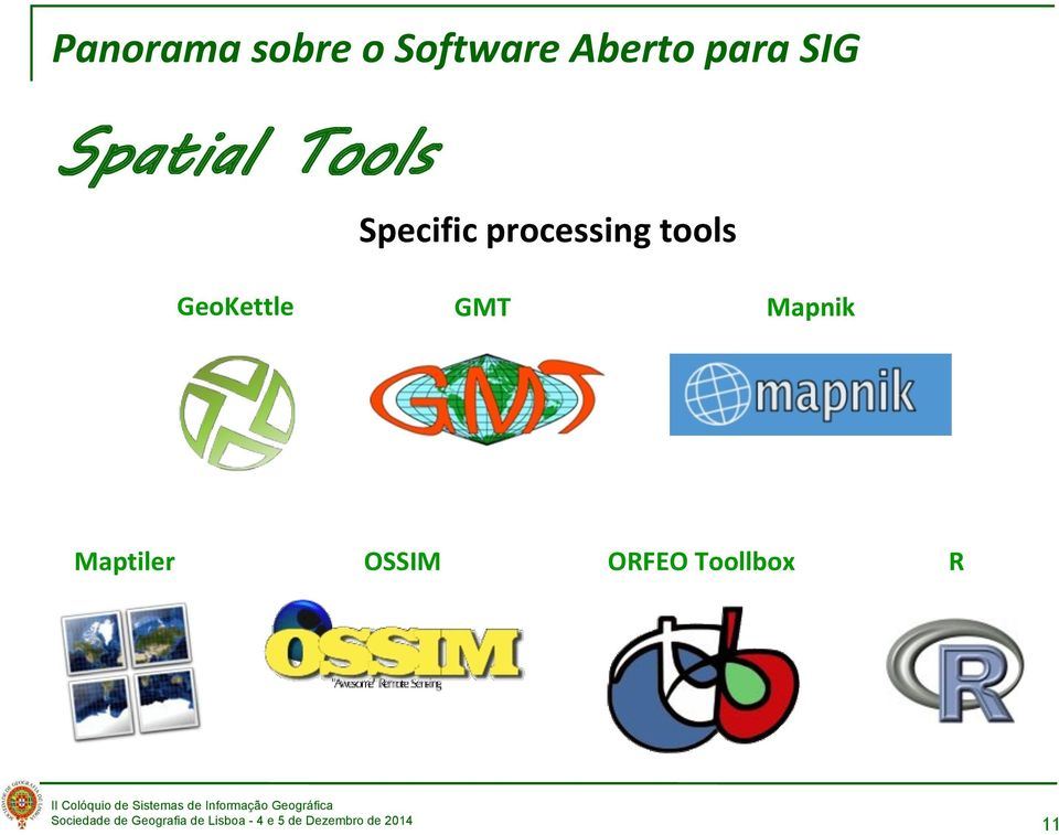 processing tools GeoKettle GMT