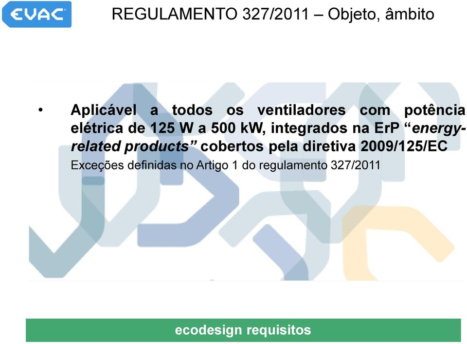 na ErP energyrelated products cobertos pela diretiva 2009/125/EC