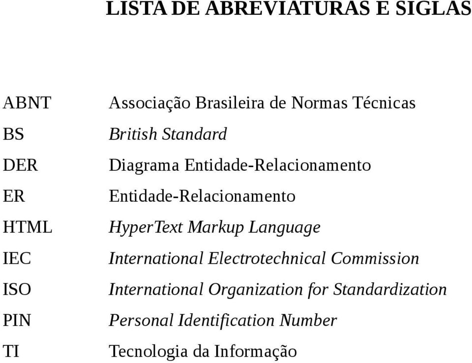 Markup Language IEC International Electrotechnical Commission ISO International