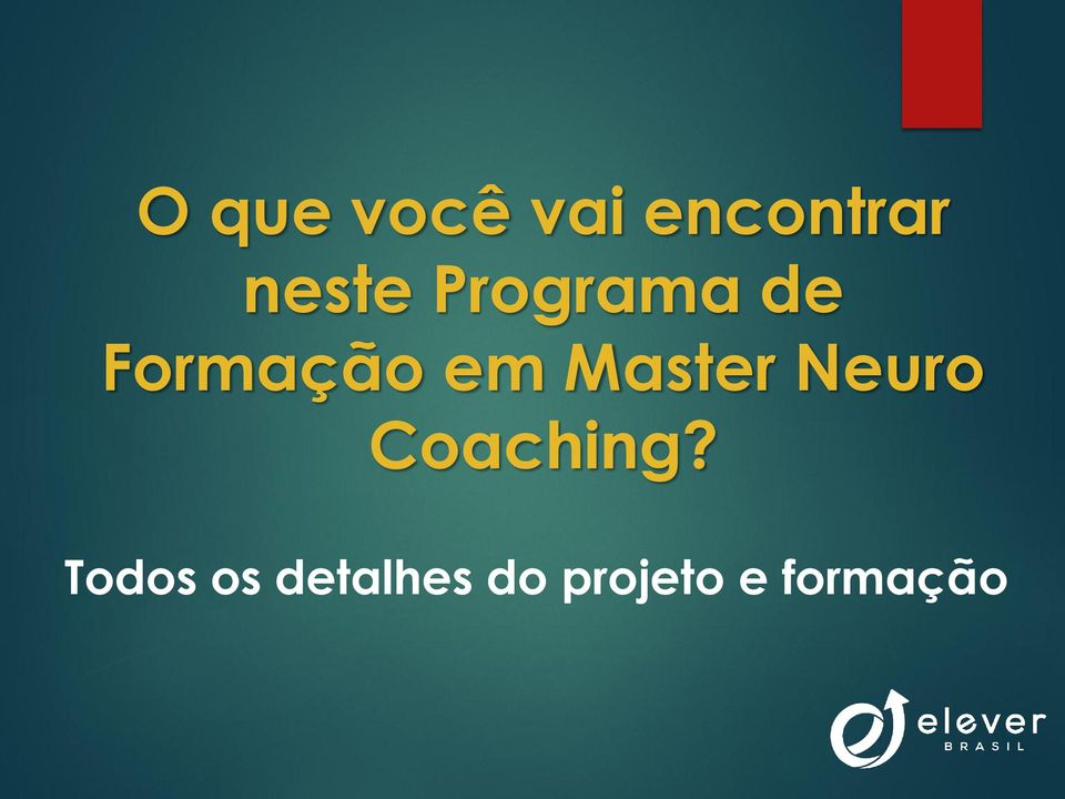 Master Neuro Coaching?