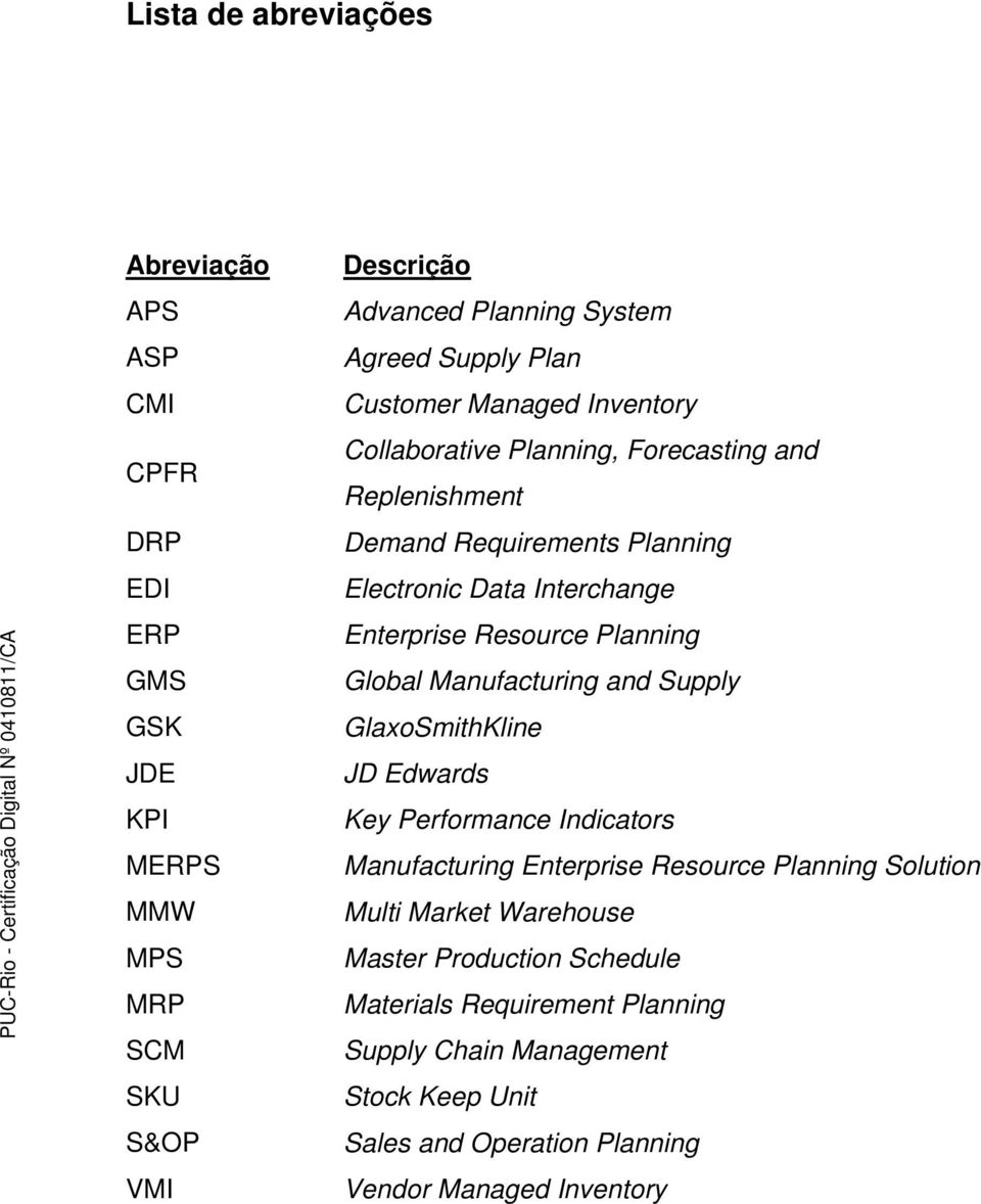 Resource Planning Global Manufacturing and Supply GlaxoSmithKline JD Edwards Key Performance Indicators Manufacturing Enterprise Resource Planning Solution Multi