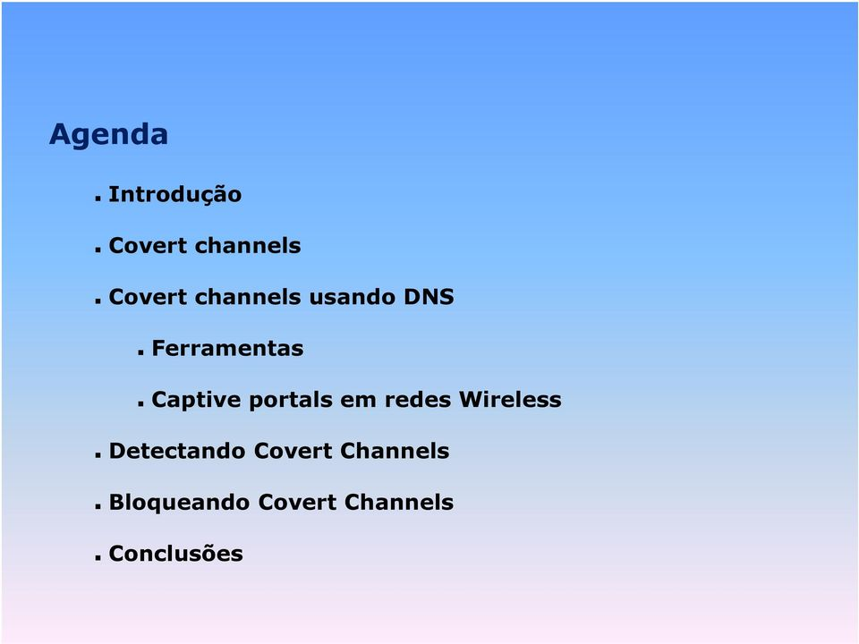 portals em redes Wireless Detectando