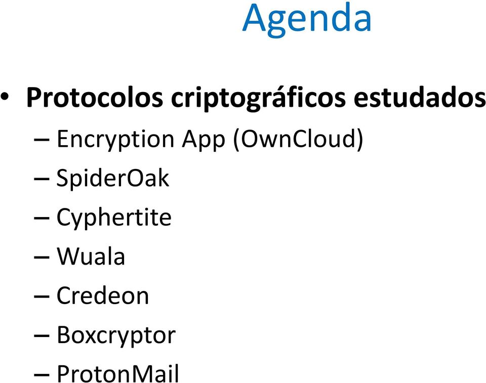 Encryption App (OwnCloud)