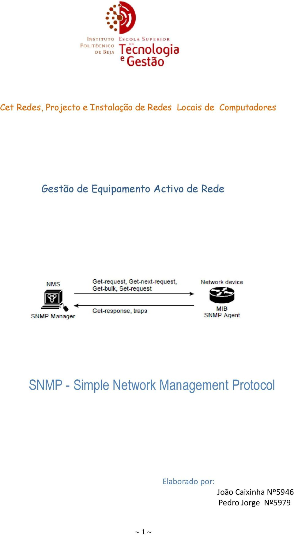 Rede SNMP - Simple Network Management Protocol