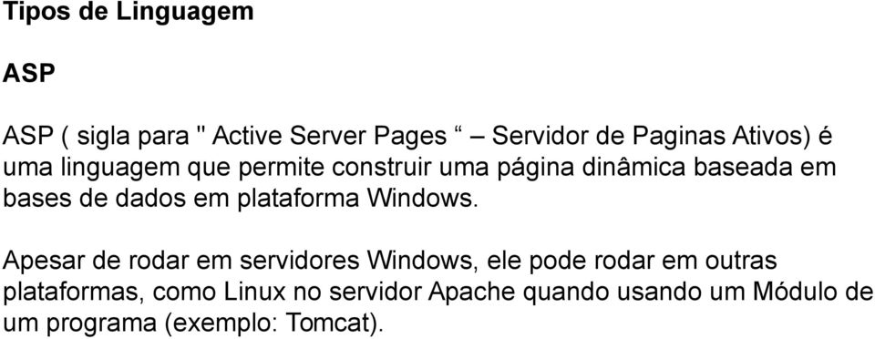 plataforma Windows.