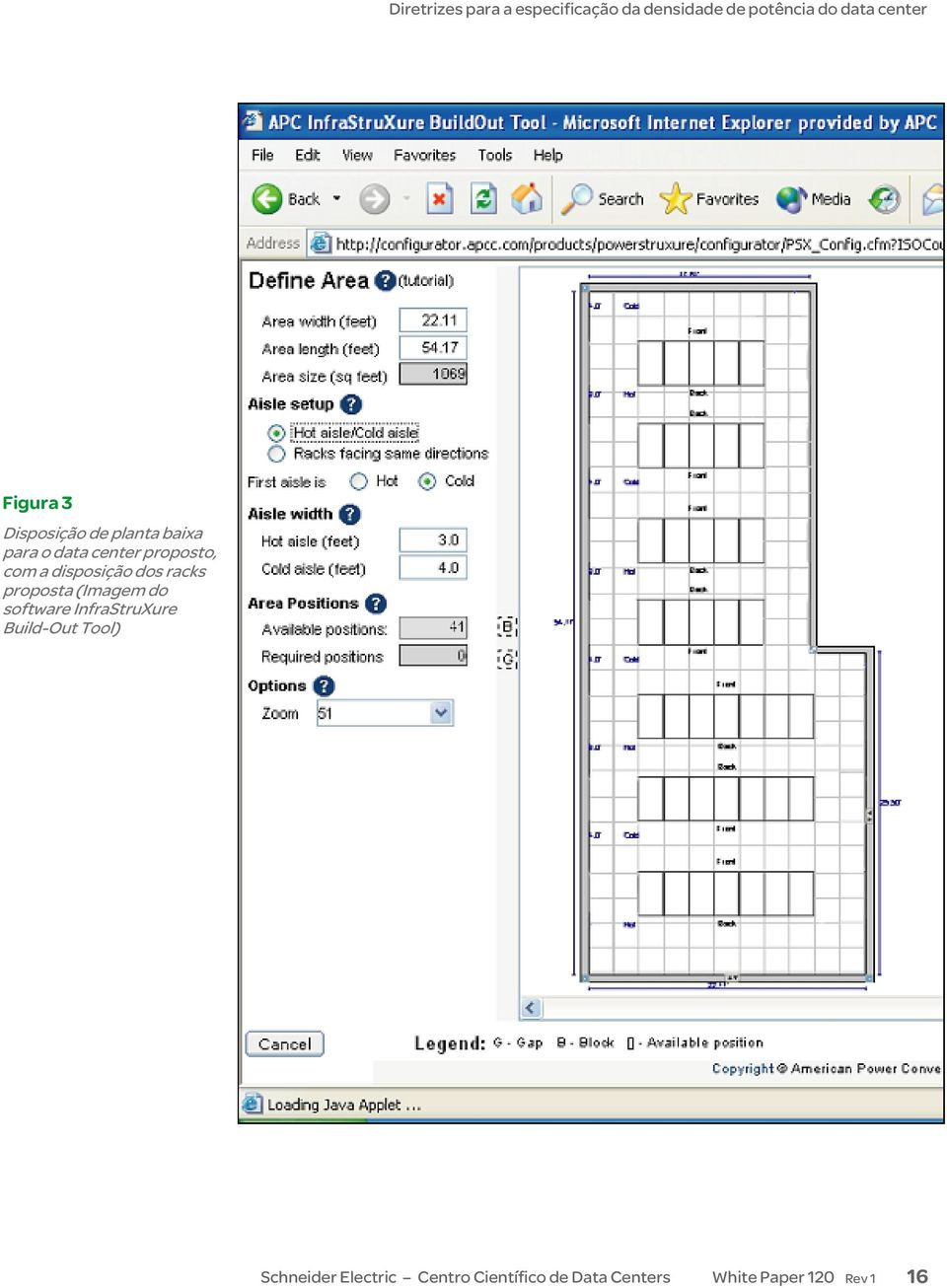 software InfraStruXure Build-Out Tool) Schneider