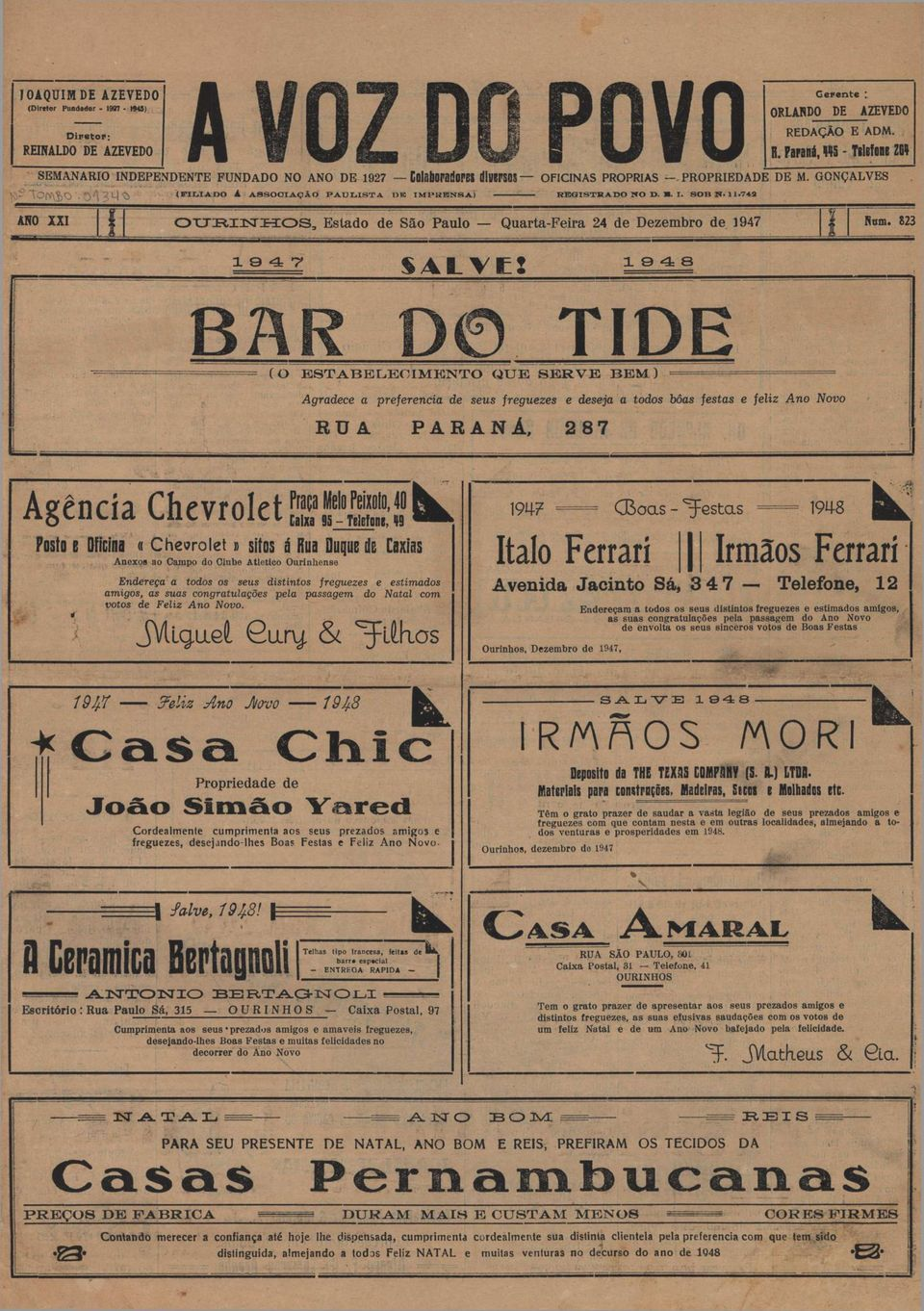 ..- BAR id TIDE.