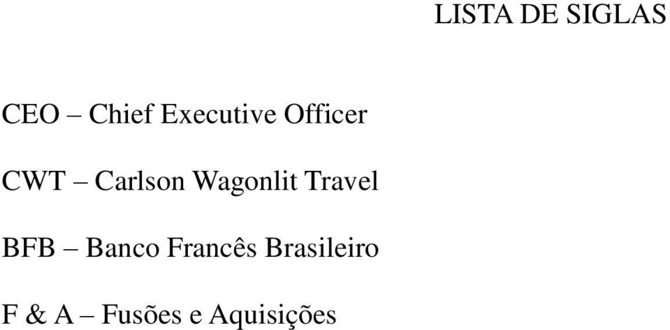Wagonlit Travel BFB Banco