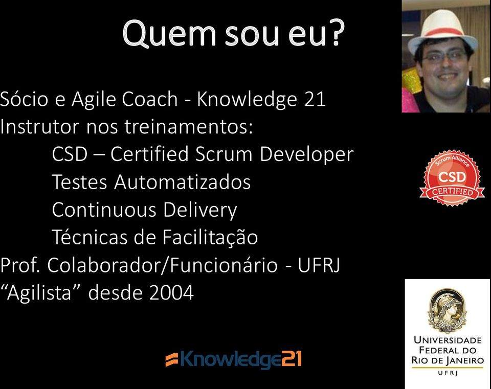 treinamentos: CSD Certified Scrum Developer Testes