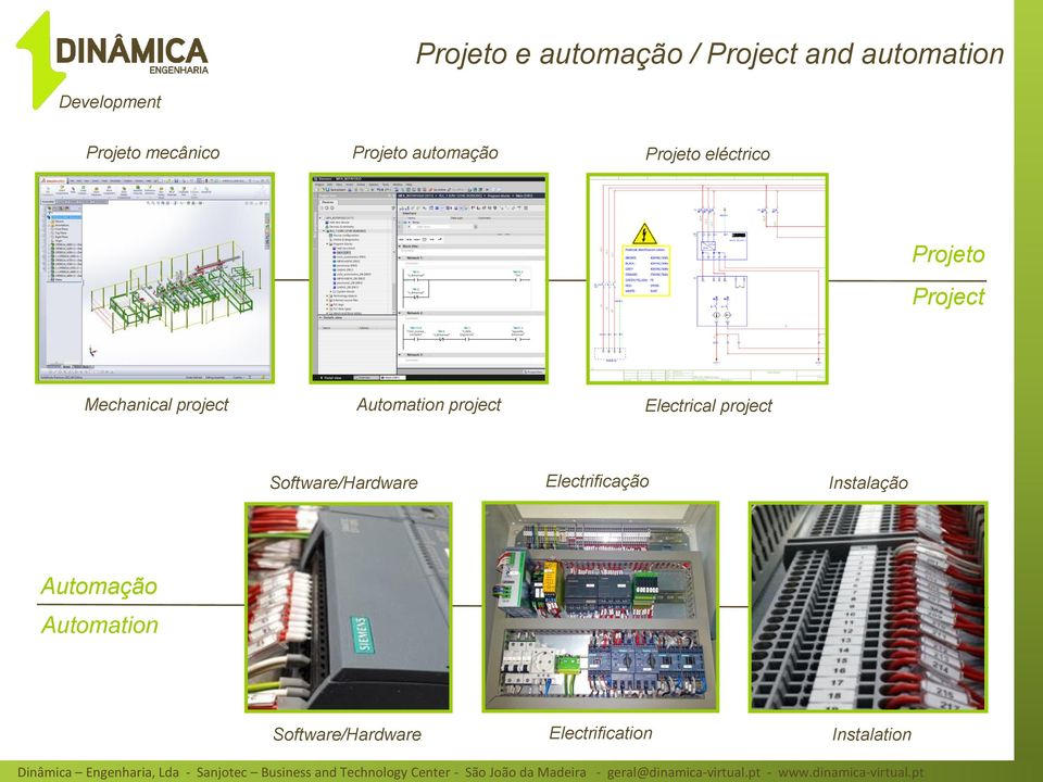 Automation project Electrical project Software/Hardware Electrificação