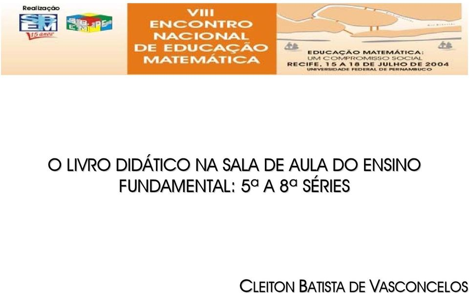 FUNDAMENTAL: 5ª A 8ª