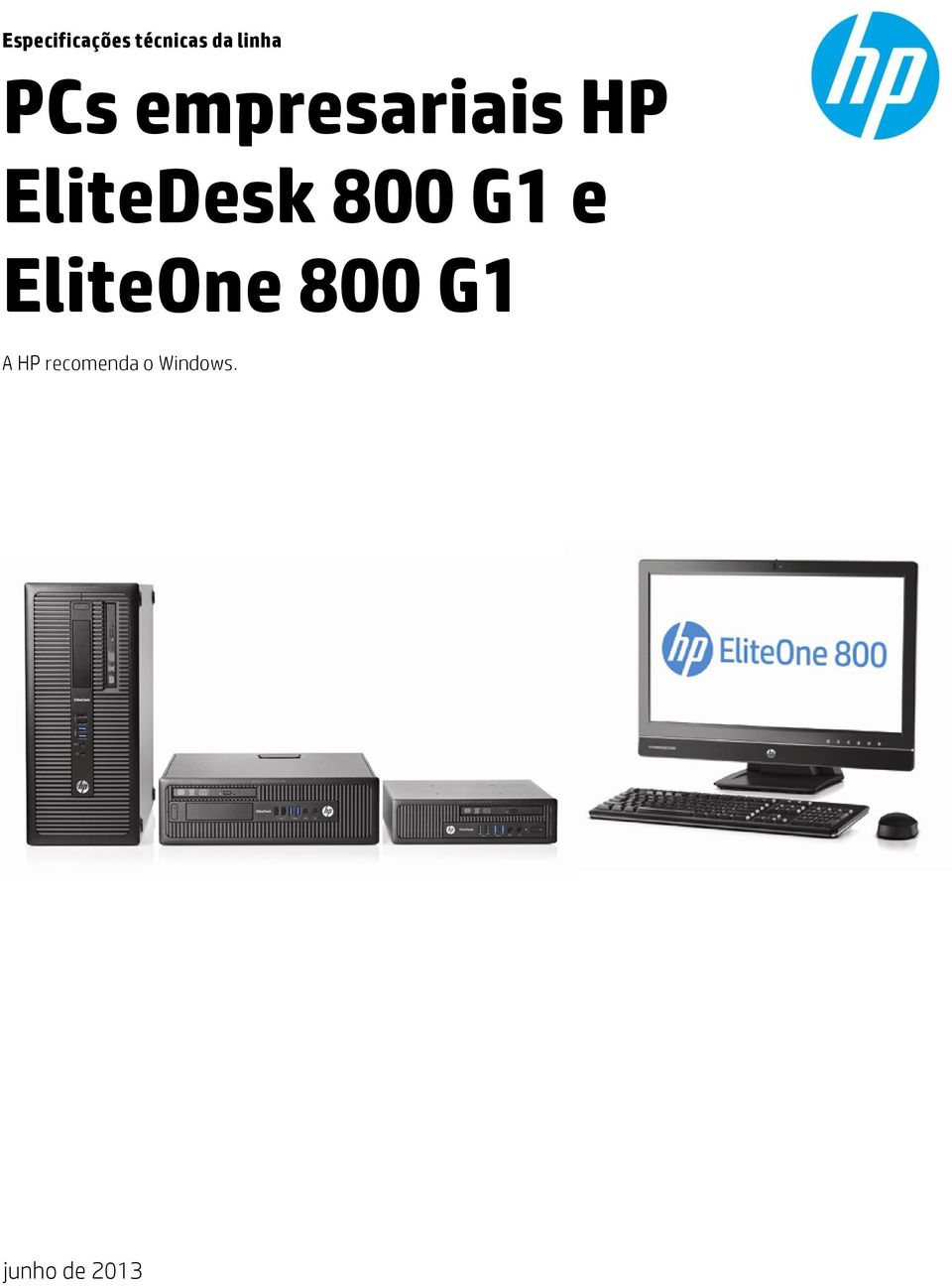 HP EliteDesk 800 G1 e