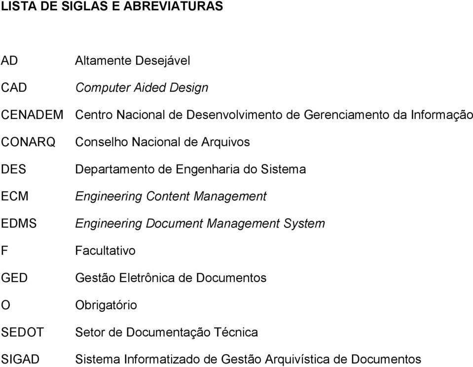 Departamento de Engenharia do Sistema Engineering Content Management Engineering Document Management System