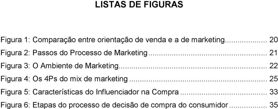 .. 22 Figura 4: Os 4Ps do mix de marketing.