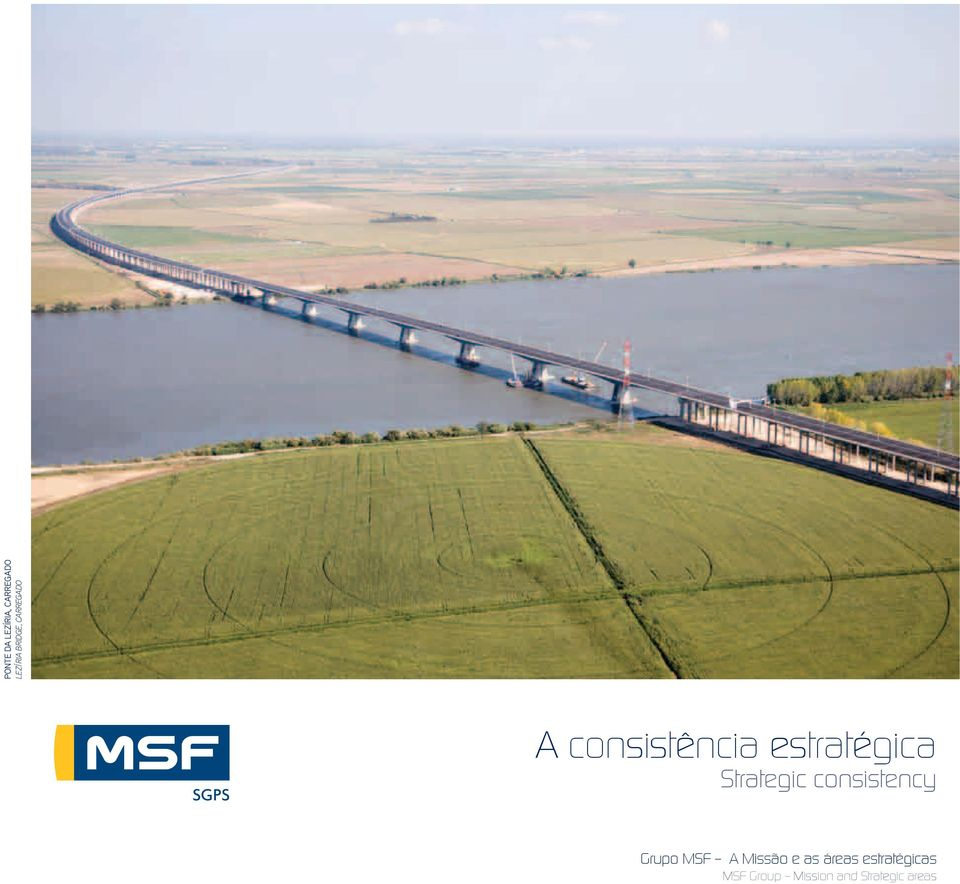 Strategic consistency Grupo MSF A Missão e as