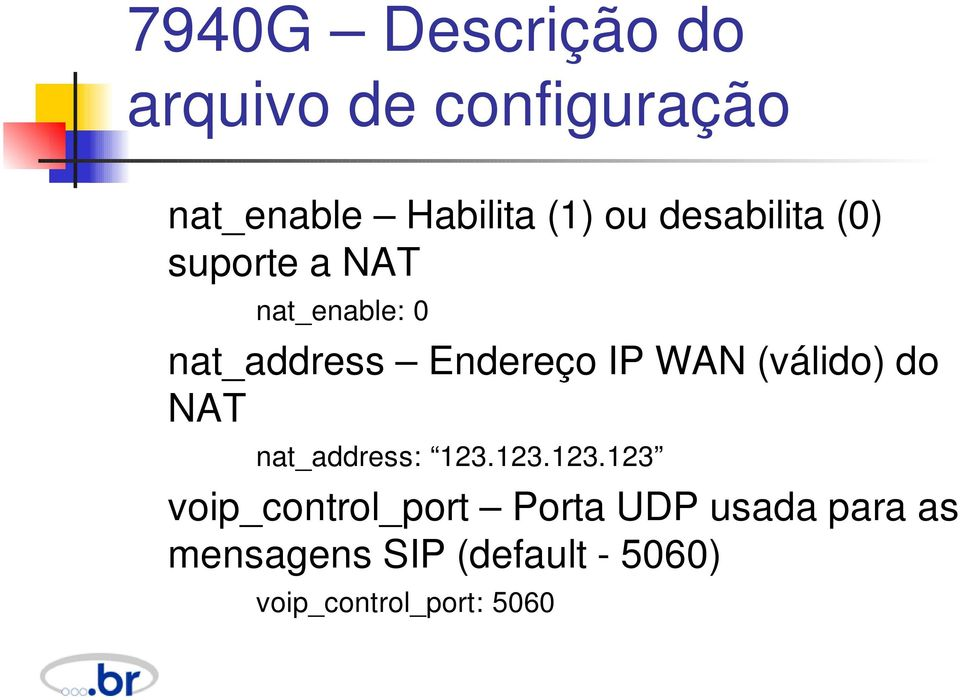 WAN (válido) do NAT nat_address: 123.