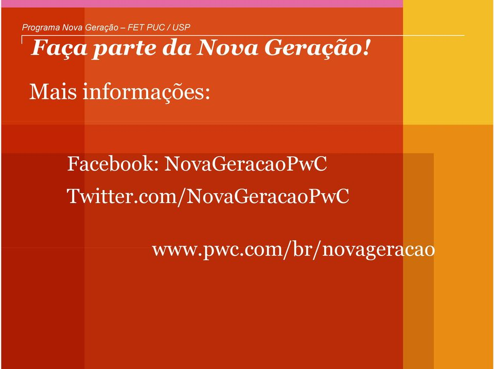 NovaGeracaoPwC Twitter.