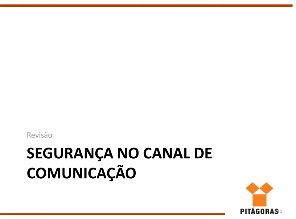 NO CANAL