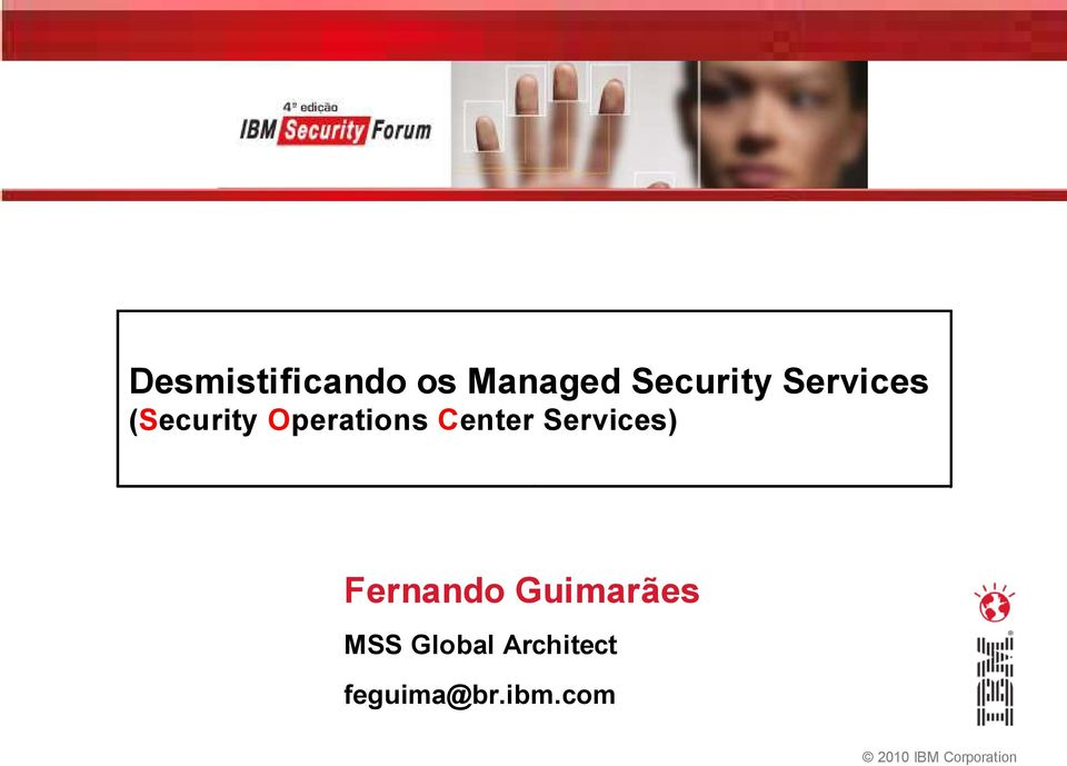 Services) Fernando Guimarães MSS Global