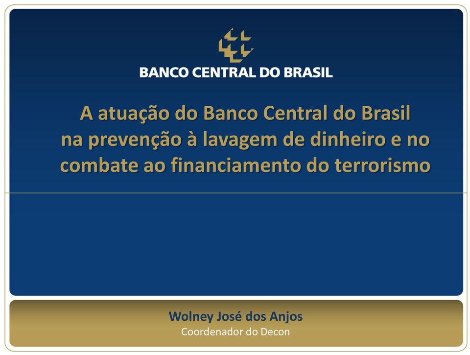 combate ao financiamento do terrorismo