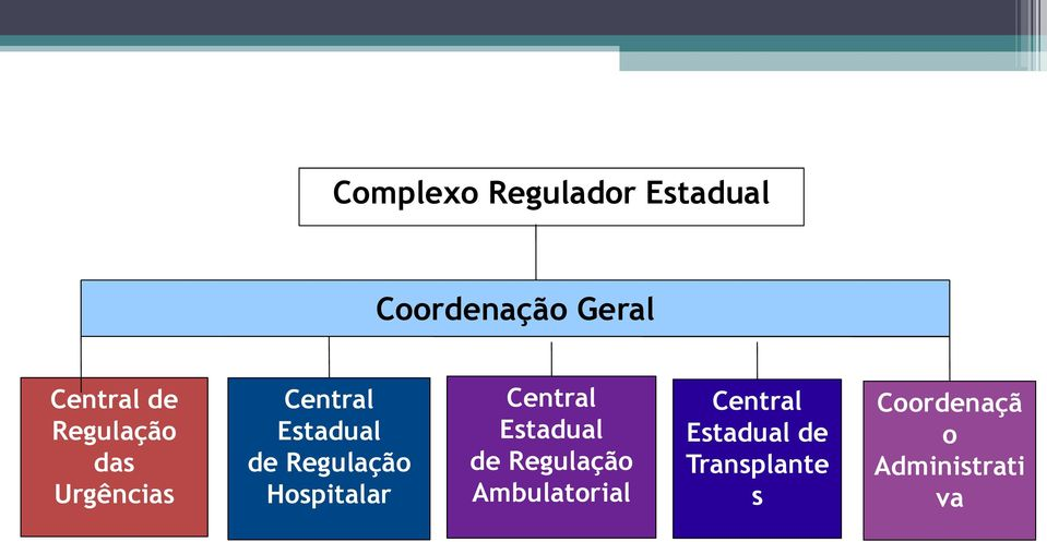 Hospitalar Central Estadual de Regulação Ambulatorial