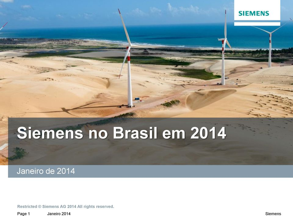 Siemens AG 2014 All rights
