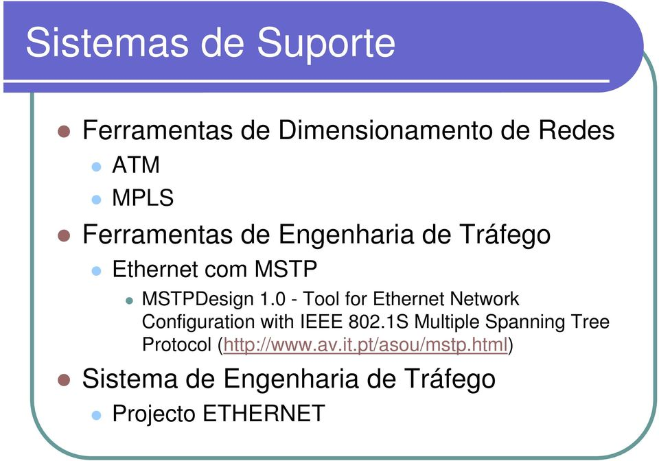 0 - Tool for Ethernet Network Configuration with IEEE 802.