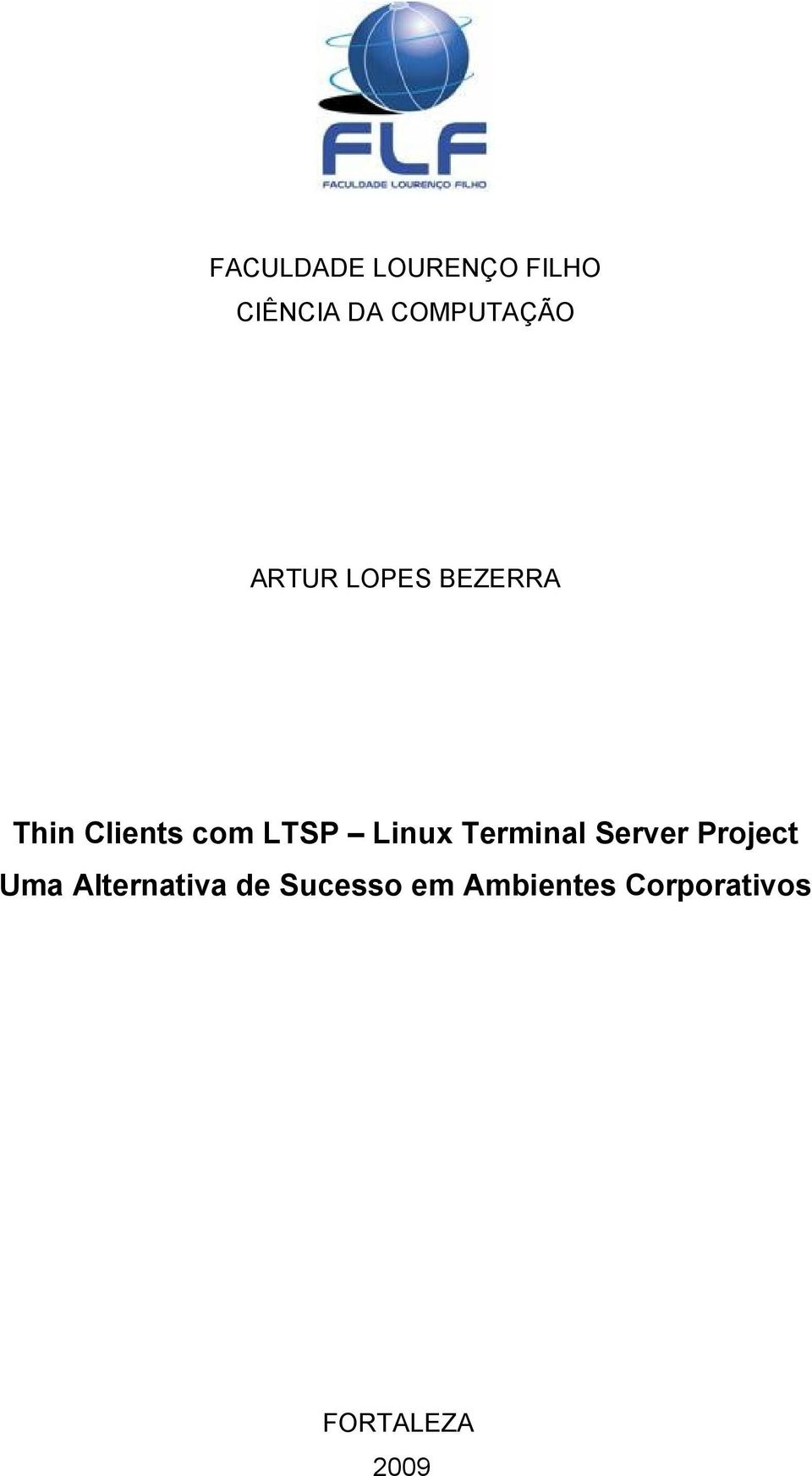 Linux Terminal Server Project Uma Alternativa