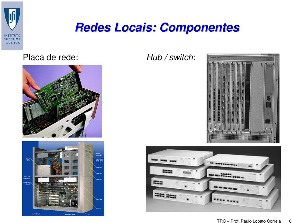 rede: Hub / switch: