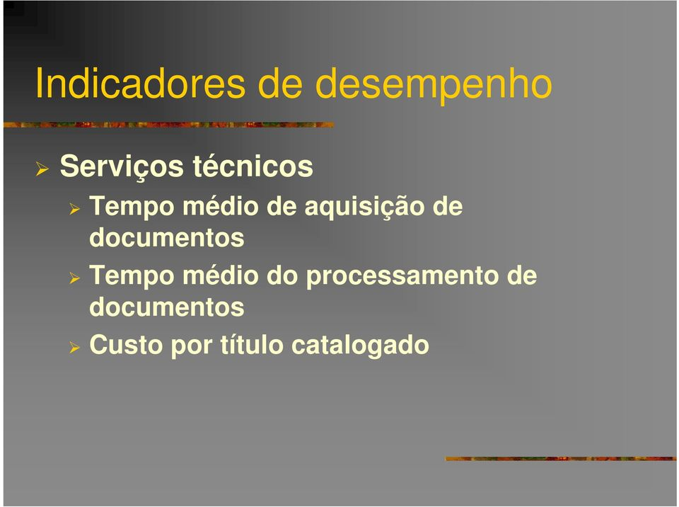 documentos Tempo médio do