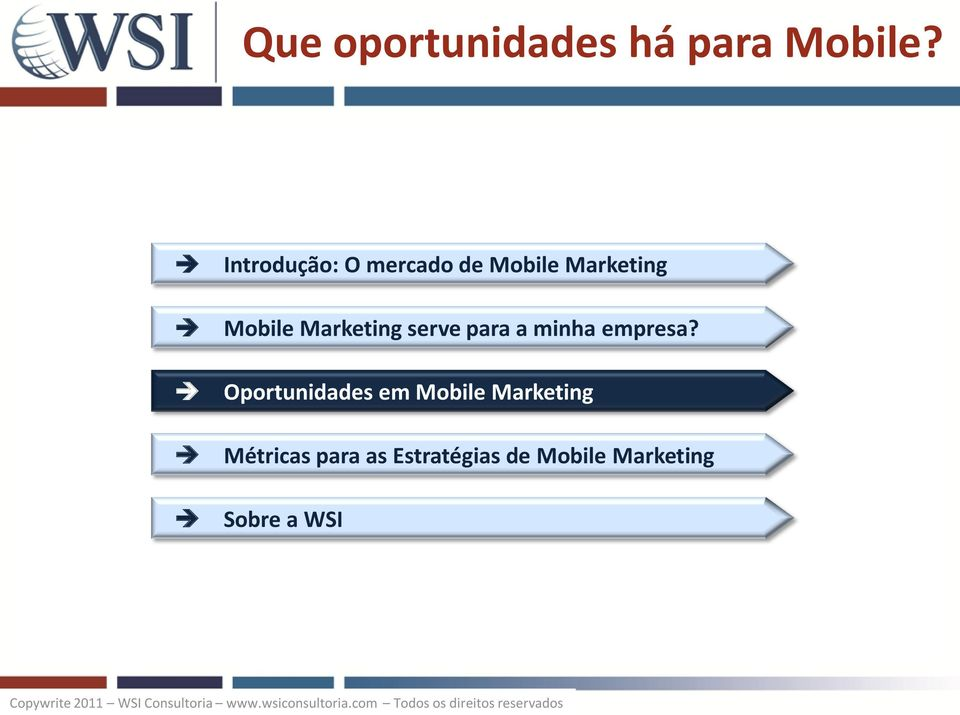 Marketing serve para a minha empresa?