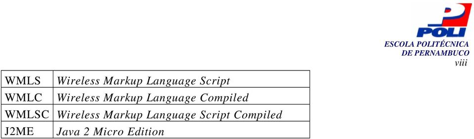 Wireless Markup Language Script Compiled