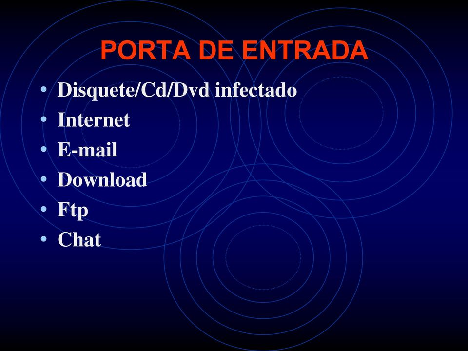 infectado Internet