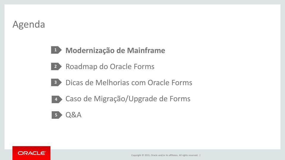 Caso de Migração/Upgrade de Forms Q&A Copyright