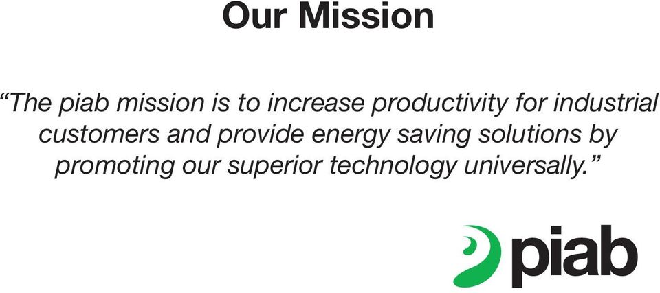 customers and provide energy saving