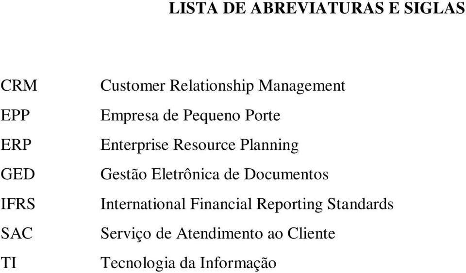 Planning Gestão Eletrônica de Documentos International Financial