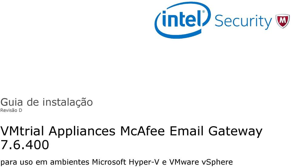 Appliances McAfee