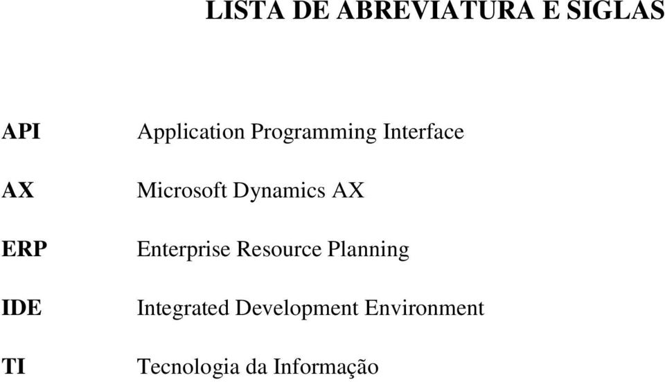 Dynamics AX Enterprise Resource Planning