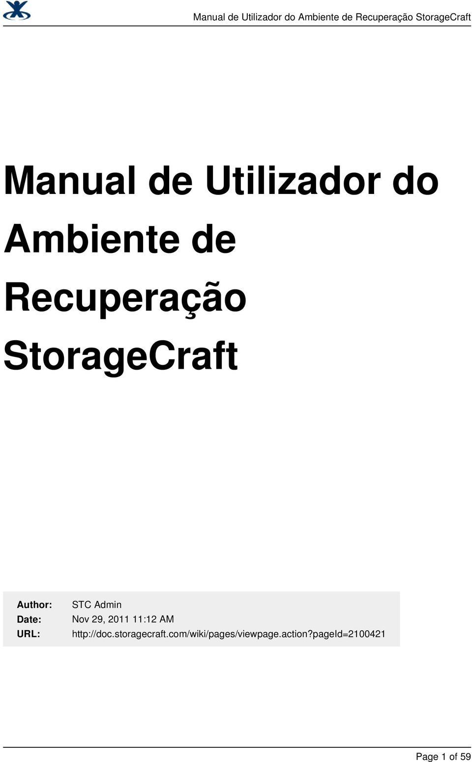 29, 2011 11:12 AM http://doc.storagecraft.