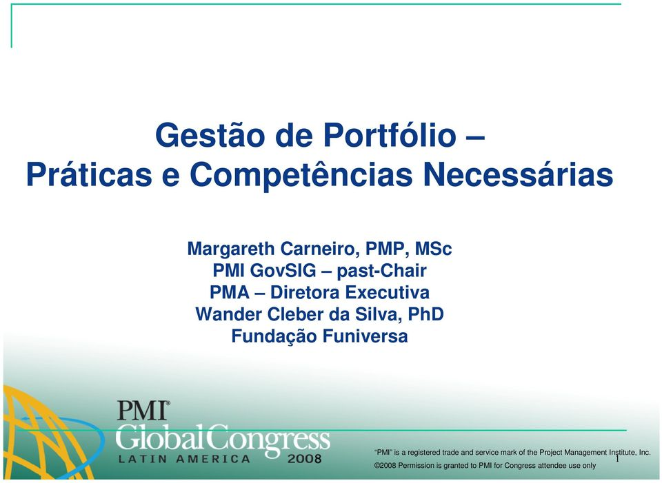 GovSIG past-chair PMA Diretora Executiva