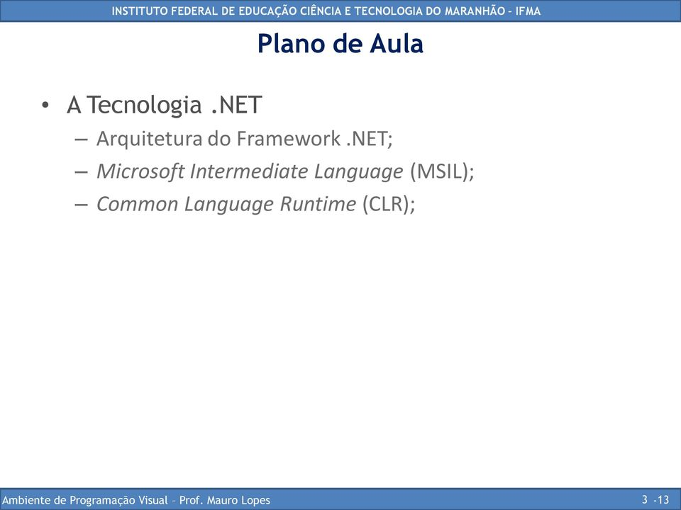 NET; Microsoft Intermediate