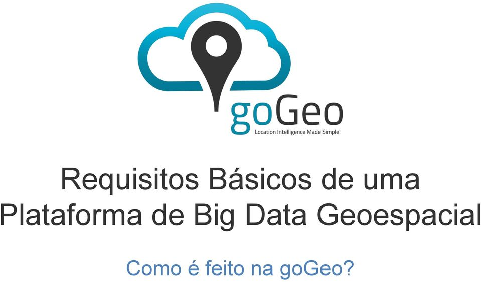 Big Data Geoespacial