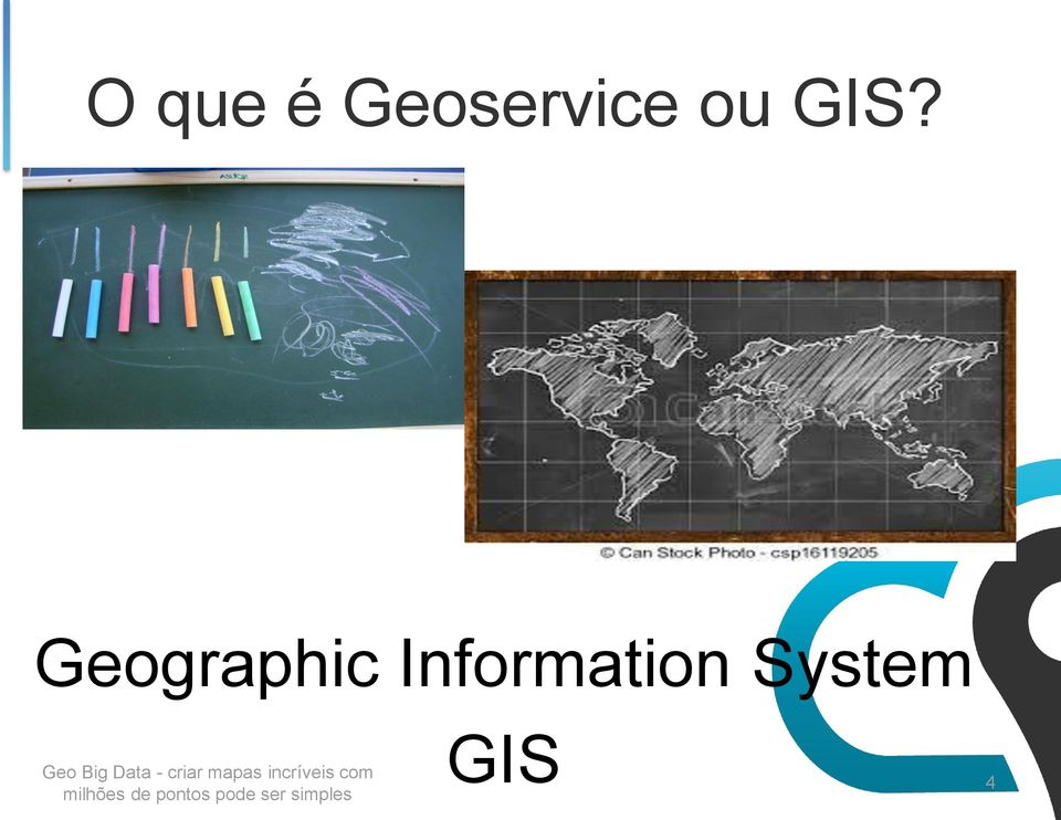 GIS? Geographic