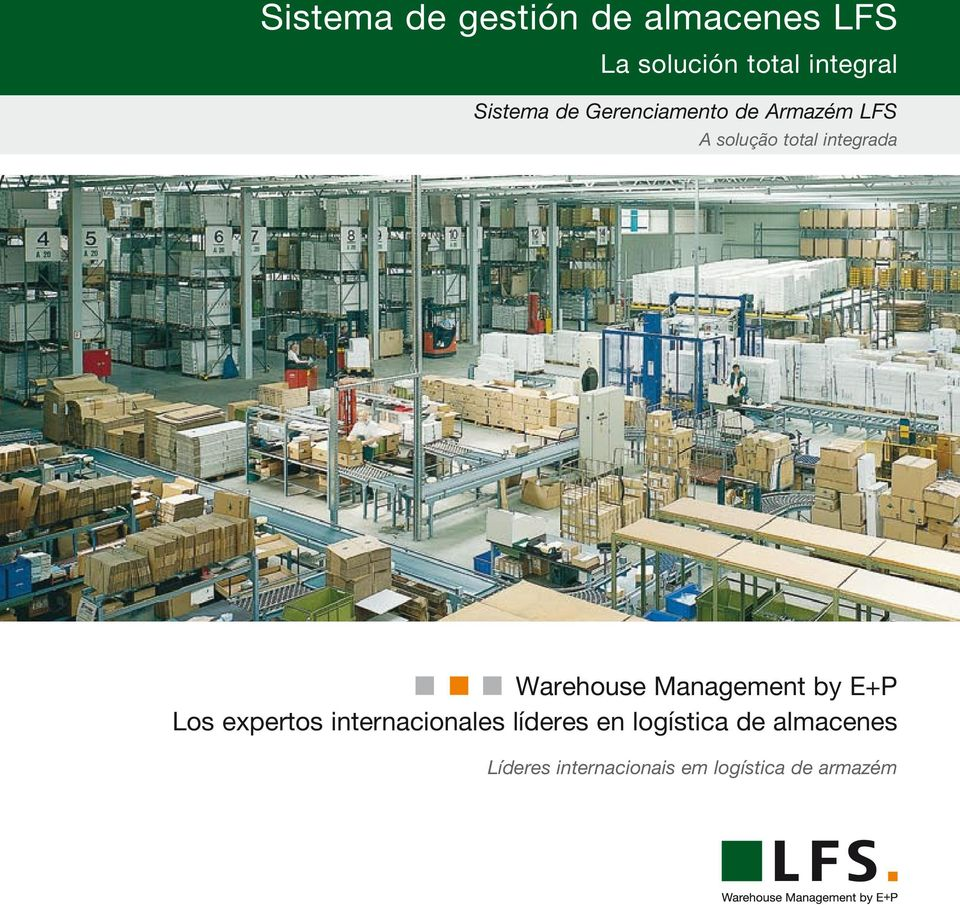 Warehouse Management by E+P Los expertos internacionales líderes